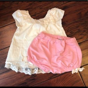 Tahari - Toddler Girls Short Set, sz 12 months